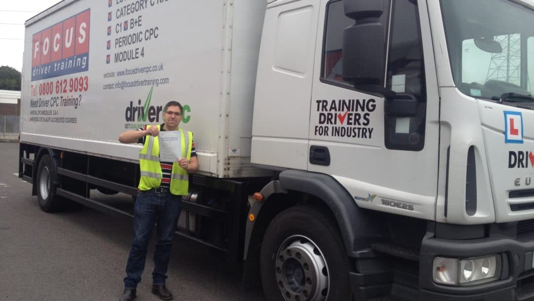 LGV Category C Training Course